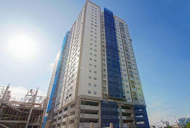 Dự án đất nền Hưng Thịnh, Căn hộ Q7 - Tiến độ thi công căn hộ Richmond City ngày 30/11/2019